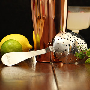 Urban Bar Stainless Steel Biloxi Julep Strainer