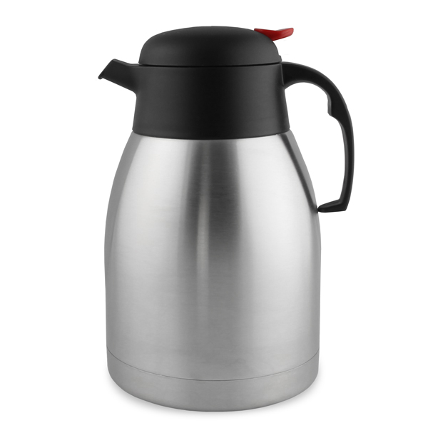 Vacuum Coffee Maker Metal : Stainless Steel Insulated Vacuum Coffee Pot 1.5 Litre