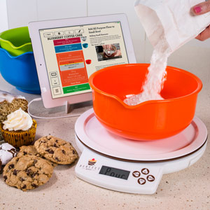 Perfect bake system for Perfect bake scale system