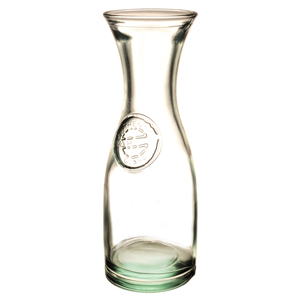 Authentic Recycled Glass Carafe 28oz / 800ml