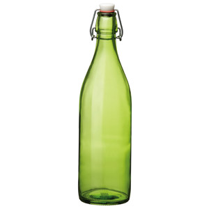 Giara Swing Top Bottle Green 1ltr