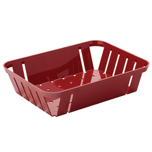 Munchie Basket Red 26.5 x 20cm