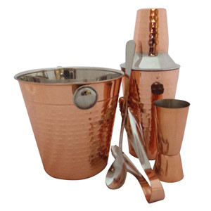 Apollo Copper Cocktail Gift Set
