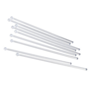 Clear Flat Ball Head Stirrers 6inch