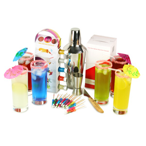 Modern Cocktails Tropical Highball Making Set