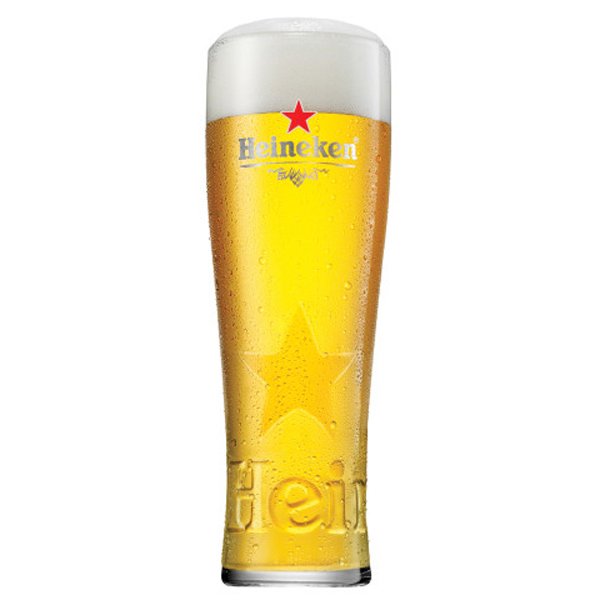 Heineken Pint Glasses Ce 20oz 568ml Drinkstuff