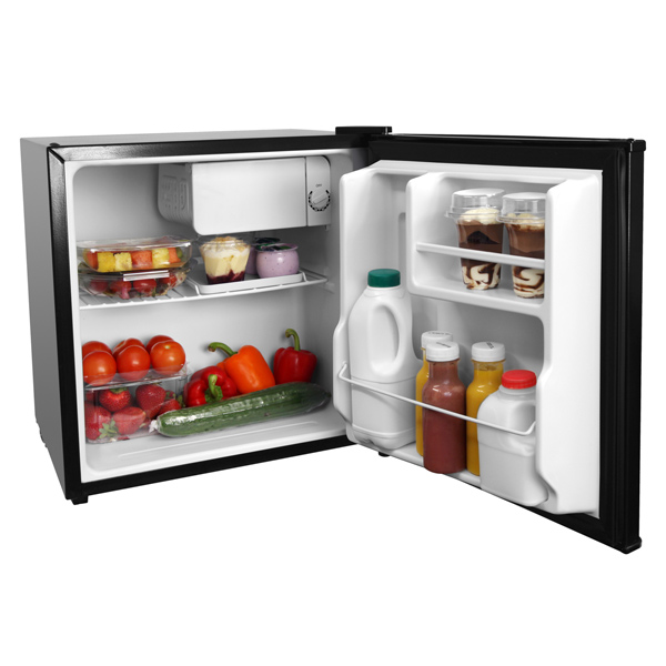 Small mini black compact fridge room 3 100 dorm room for Small room fridge