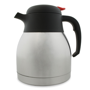 Stainless Steel Vacuum Coffee Pot 32oz / 1ltr