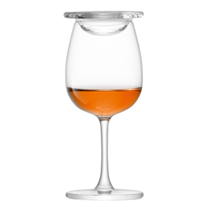 LSA Whisky Islay Nosing Glasses with Glass Covers 3.9oz / 110ml