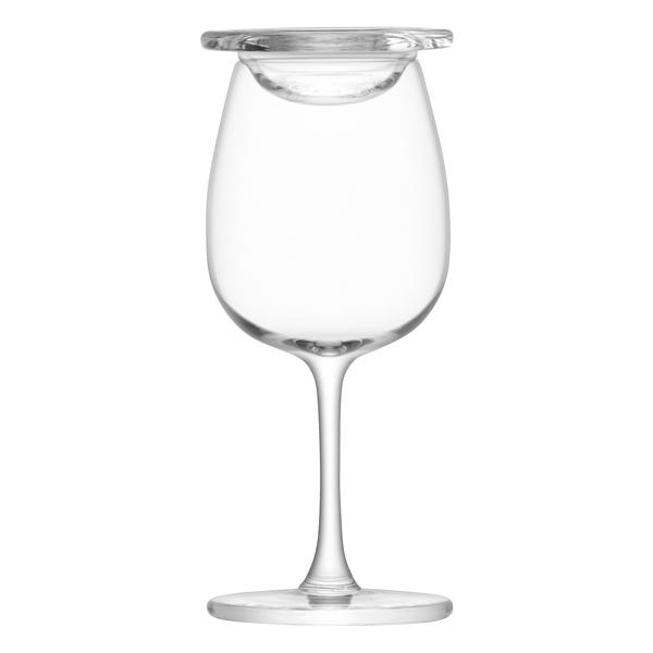 lsa whisky islay nosing glasses with glass covers. Black Bedroom Furniture Sets. Home Design Ideas