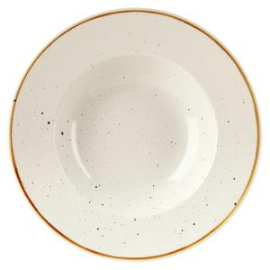 Churchill Stonecast Barley White Wide Rim Bowl 11 Inches / 28cm