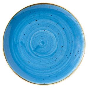"Churchill Stonecast Cornflower Blue Coupe Plate 6.5"" / 16.5cm"