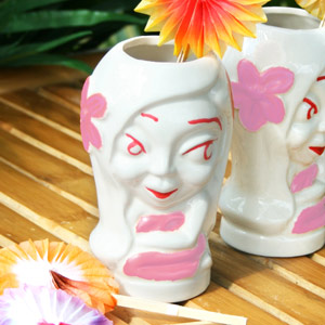 Hula Girl Tiki Mug 9oz / 265ml