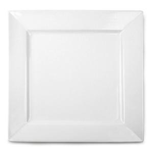 Royal Genware Fine China Square Plates 26cm