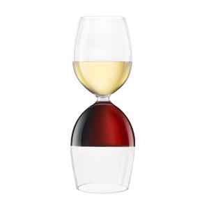 Final Touch Twin Vin Wine Glass