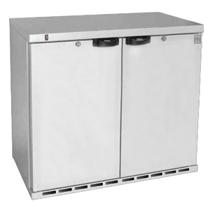 Osborne eCold 220ES Undercounter Hinged Solid Door Bottle Cooler Stainless Steel