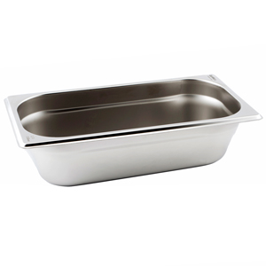Gastronorm Pan 1/3 One Third Size 65mm Deep