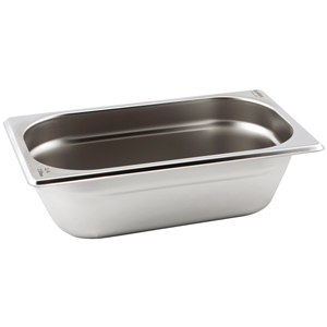 Gastronorm Pan 1/4 Quarter Size 65mm Deep