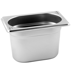Gastronorm Pan 1/9 One Ninth Size 100mm Deep