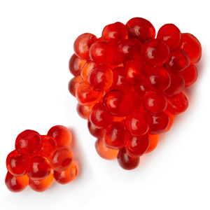 Strawberry Cocktail Flavour Pearls 200g