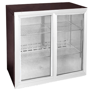 Osborne eCold 250EW Sliding Door Wine Bottle Cooler Stainless Steel Doors & Kickplate