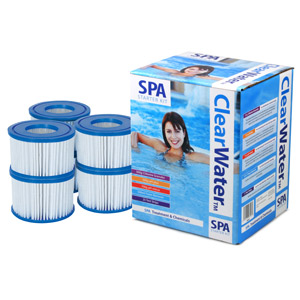 Lay Z Spa Silver Spa Starter Kit