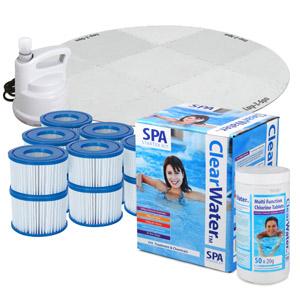 Lay Z Spa Ultimate Spa Starter Kit
