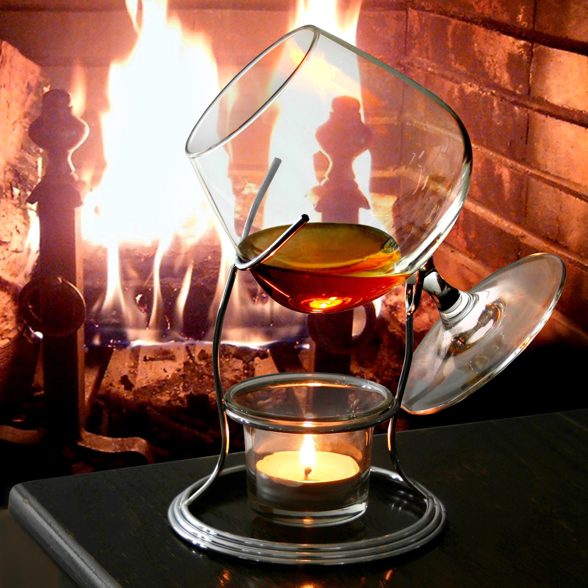 Cognac & Brandy Warmer with Glass 14oz / 400ml