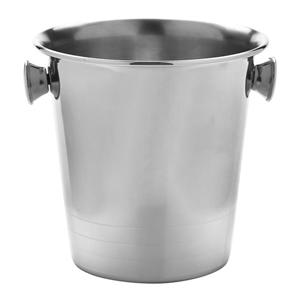 Mini Stainless Steel Ice Bucket Replica 14cm