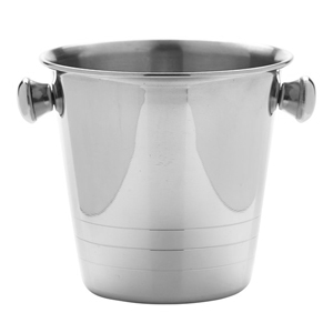 Mini Stainless Steel Ice Bucket Replica 10cm