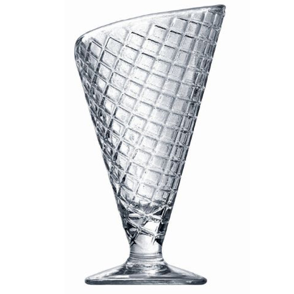 gelato ice cream cone sundae glasses 280ml at drinkstuff. Black Bedroom Furniture Sets. Home Design Ideas