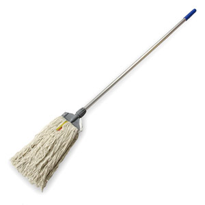 Image of Colour Coded Blue Kentucky Mop Head & Handle