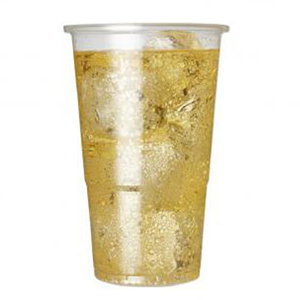 Oversized Flexy-Glass Half Pint Tumbler 12oz LCE at 10oz