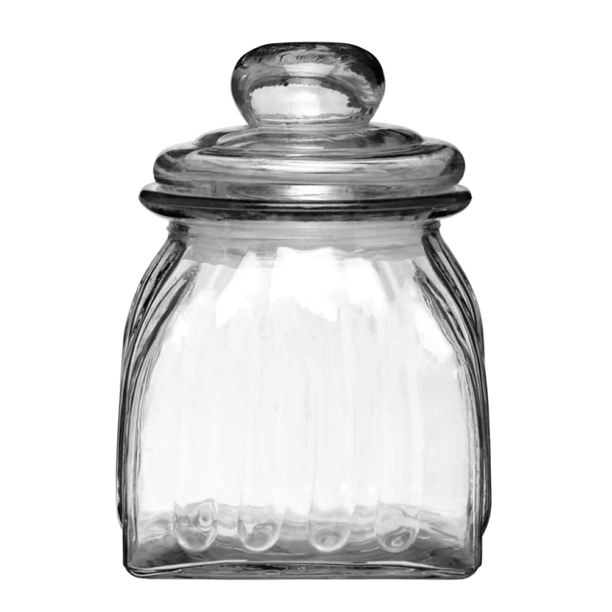 Homemade Vintage Style Glass Storage Jar 0.67ltr