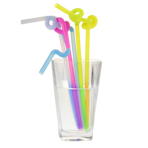 Colour Changing Super Bendy Straws 10.25inch