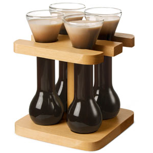 Mini Yards of Ale with Stand