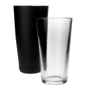 Boston Cocktail Shaker Black Matte