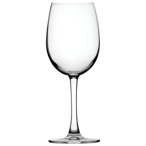 Nude Reserva Crystal Bordeaux Tri Lined White Wine Glasses 12.3oz LCE at 125ml, 175ml & 250ml