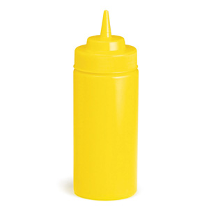 Yellow Squeeze Sauce Bottle 8oz / 235ml