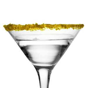 Pineapple Flavour Yellow Cocktail Rimming Sugar 16oz / 453g