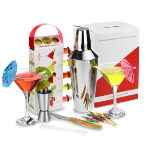 Modern Cocktails Martini Making Set