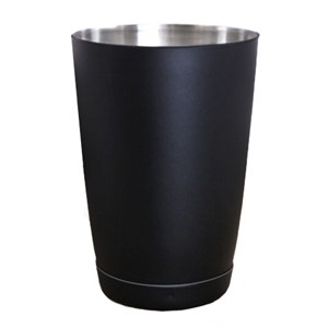 Black Matte Boston Cocktail Shaker Tin 18oz / 510ml