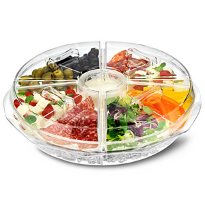 On Ice 8 Section Appetiser Tray