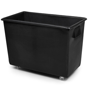 Recycled Bottle Skip 165ltr Black 820 x 455 x 620mm