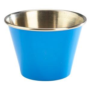 Blue Stainless Steel Ramekin 2.5oz / 71ml