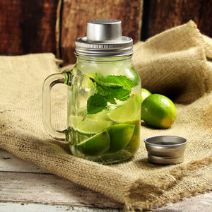 Mason Drinking Jar Cocktail Shaker 20oz