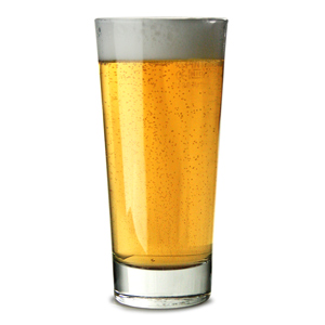 Elan Beverage Glasses 14oz LCE at 2/3rd Pint