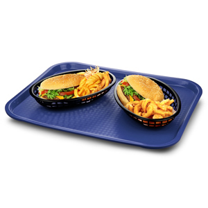 Fast Food Tray Large Blue 14 x 18inch