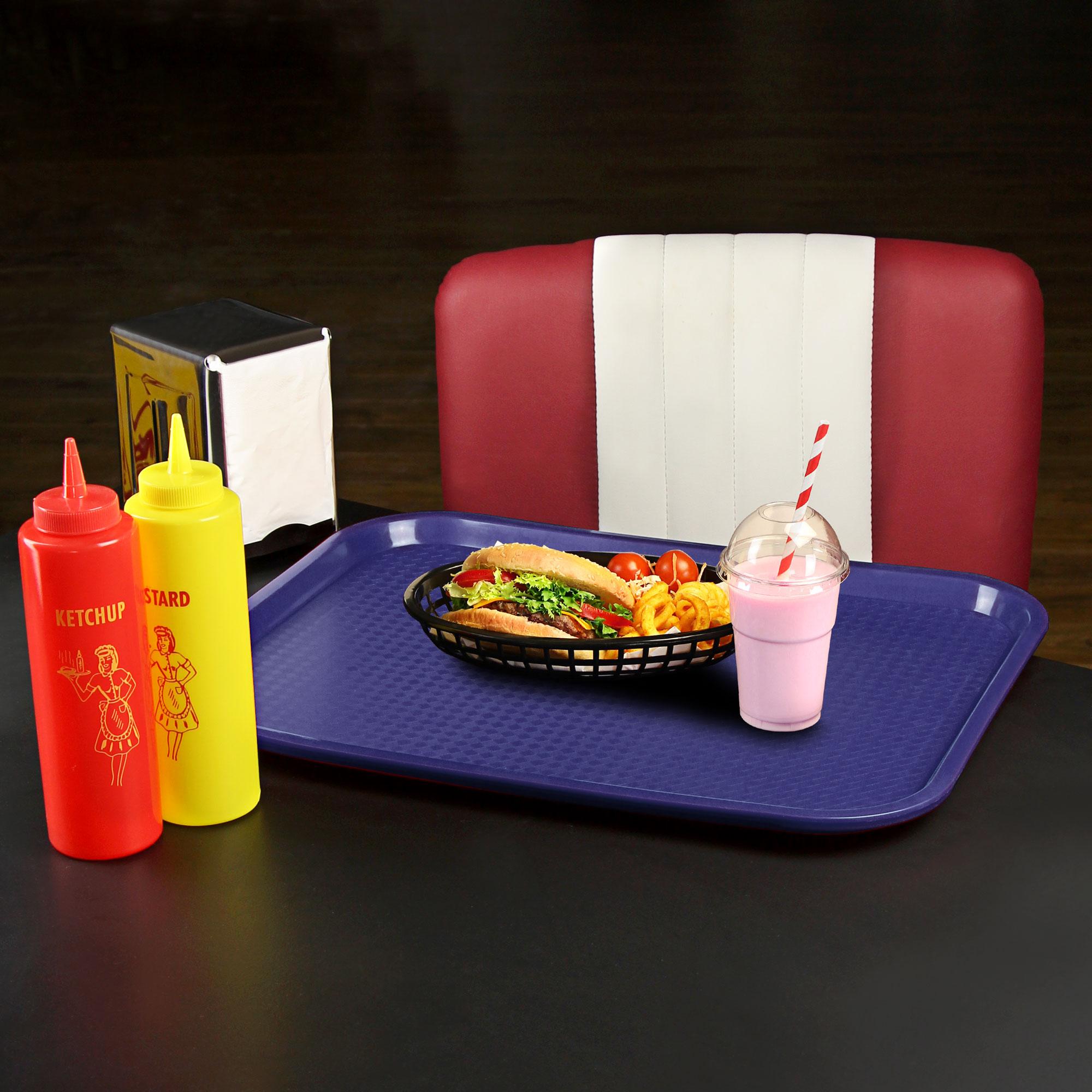 Plastic Fast Food Trays At Drinkstuff