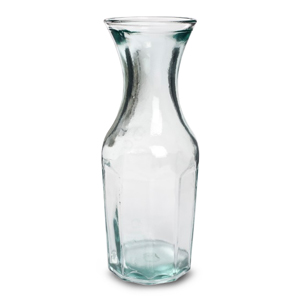Classic Recycled Glass Carafe 35oz / 1ltr